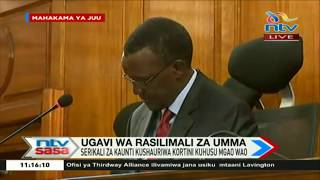 Jaji mkuu Maraga askiliza kesi ya Magavana kuhusu ugavi wa raslimali za umma