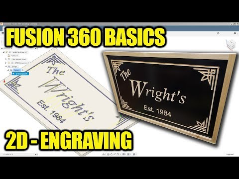 Download Fusion 360 Tutorial Engraving Acrylic With Cam