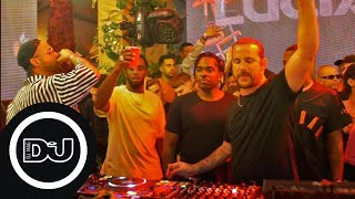 Luciano b2b Loco Dice - Live @ Vagabundos At The Surfcomber, Miami 2019