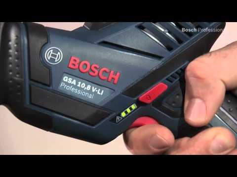 Bosch Akku-Säbelsäge GSA 10,8 V-LI Professional