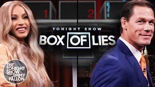 Tonight Show Box of Lies with Cardi Band JohnCena thumbnail