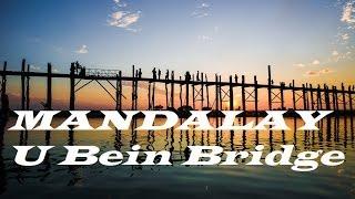 preview picture of video 'Myanmar Mandalay U bein Bridge Part 16'