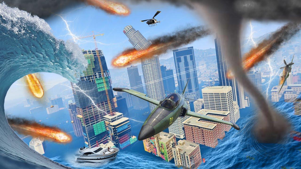 Natural Disasters Mod Gta