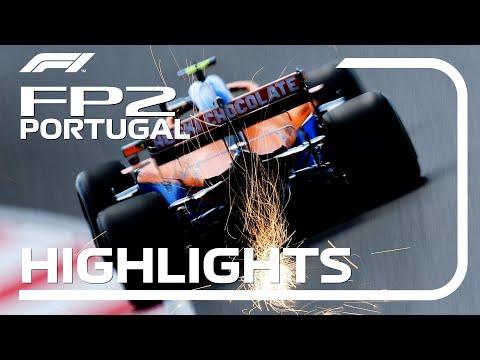 F1第3戦ポルトガルGP(ポルティモア)フリープラクティス2のハイライト動画