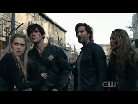 """Bellarke: """"Let her go Echo"""" + Bellamy tries to save his Princess + Power Couple (The 100: 04x01)"""