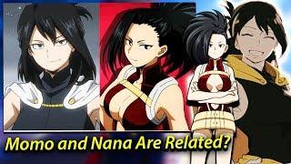 Momo Yaoyorozu  - (My Hero Academia) - Momo Yaoyorozu is SECRETLY Nana's Granddaughter & Midoriya Second QUIRK - My Hero Academia Theories