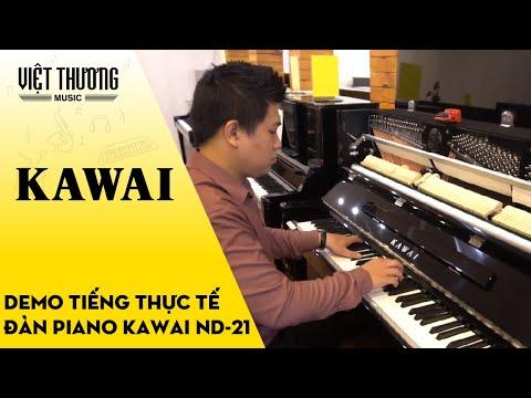 Demo sound tiếng thực tế đàn piano Kawai ND-21