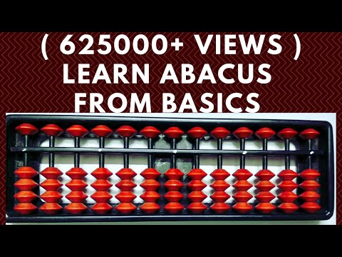 Abacus from basics    Abacus Lesson 1    Introduction.