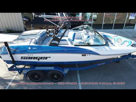 2021 Sanger Boats 212 SL in Madera, California - Video 1