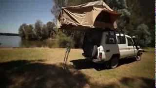 Kalahari Roof Top Tent made by Powerful 4x4