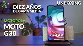 Moto G30 UNBOXING en México, 10 años de la gama media de MOTOROLA