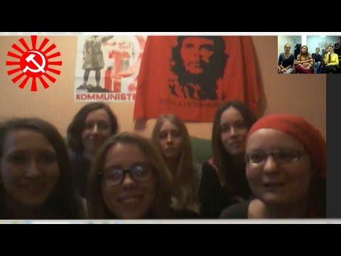 Телемост с феминистками Донецка