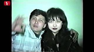 1995 год Как выглядели казахстанские звезды? Шоубиз Казахстан только зарождался. Это Алматы.