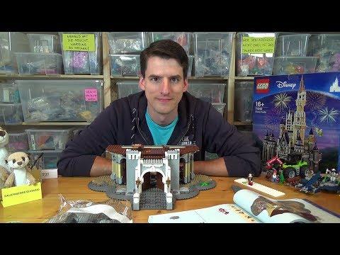 Bauen mit dem Helden - LEGO® 71040 - Disney Castle Bauphase 3