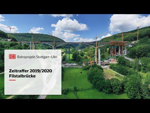 Filstalbrücke – Zeitrafferfilm 2019/2020