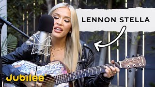 Lennon Stella Surprises Fan With a Private Concert