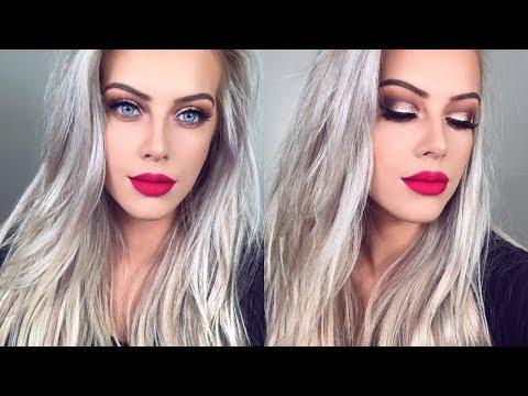 Extra Af Christmas Makeup Tutorial | Chloe Boucher