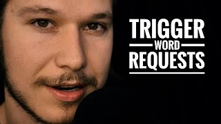 ASMR up-close trigger words