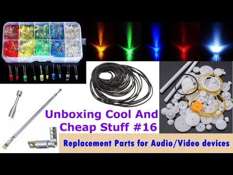 Unboxing Cool and Cheap Stuff #16 - Replacement Parts for Audio/Video Devices