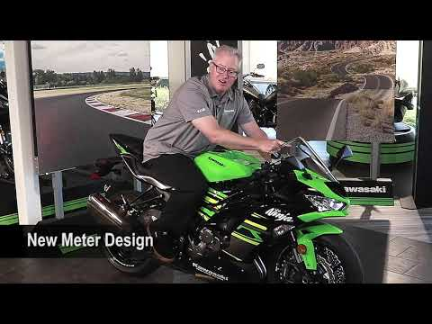2019 Kawasaki NINJA ZX-6R in Zephyrhills, Florida - Video 5