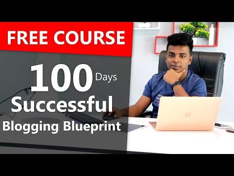 🔥🔥 100 Days Successful Blogging Course | 😍 100% Free Course