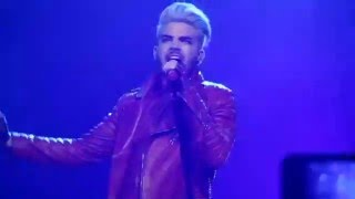 Adam Lambert - Evil in the night live @ Crocus Ciy Hall, Moscow, Russia_18.04.2016