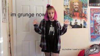 I Gave Myself A Grunge Makeover