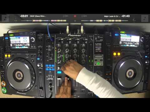 DJ Ravine tests out CDJ control on djay Pro (MELTRANCE BOUNCE EDM NOGENRES)