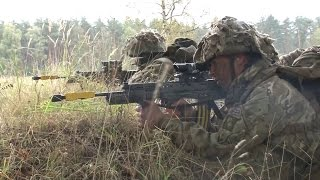Queen's Royal Hussars Pushed To The Limit