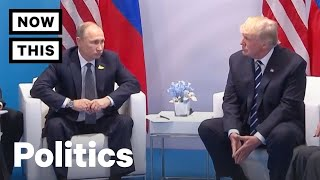 Donald Trump and Vladimir Putin Meet for the First Time | NowThis