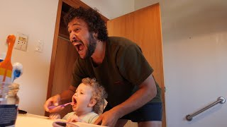HOW TO GET A TODDLER TO BRUSH THEIR TEETH