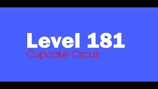 Candy Crush Saga level 181 Help,Tips,Tricks and Cheats