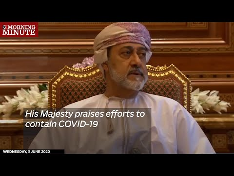 His Majesty praises efforts to contain COVID-19