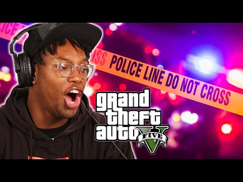 "We Try Breaking Every Law in ""Grand Theft Auto V"""