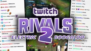 Imaqtpie - TWITCH RIVALS 2: ELECTRIC BOOGALOO (WE'VE NEVER DONE THIS BIT BEFORE)