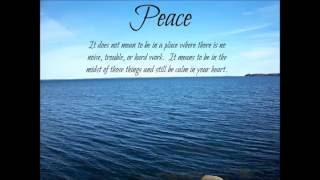 """Ad Pacem- """" Towards Peace """""""