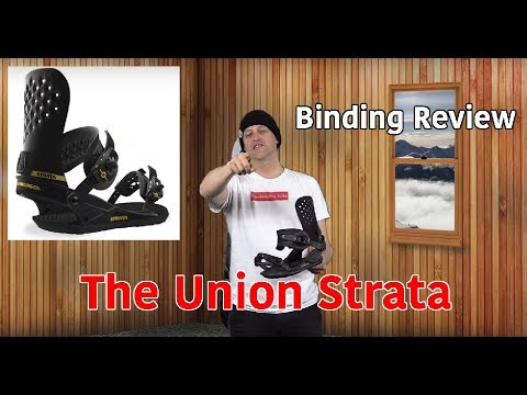 The Union Strata Snowboard Binding Review