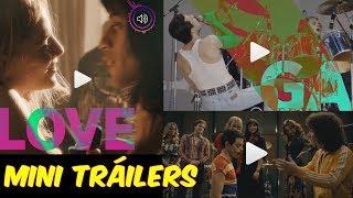 3 Mini Tráilers de Bohemian Rhapsody La Película