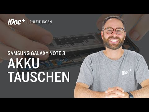 Samsung Galaxy Note 8 – Akku wechseln