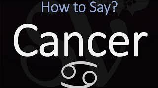How to Pronounce Cancer? (CORRECTLY) Zodiac Sign Pronunciation