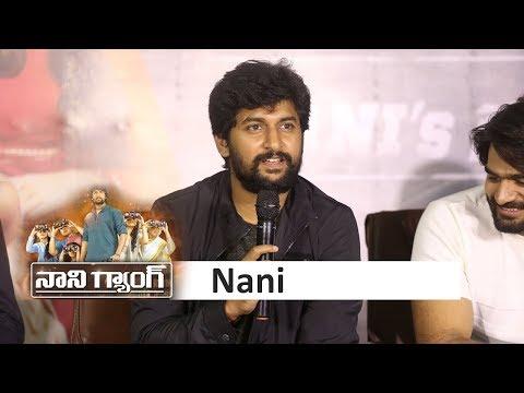Nani at Gang Leader Movie Success Meet