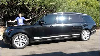 Here's Why the Range Rover Limo Is Ultra-Luxury Transportation