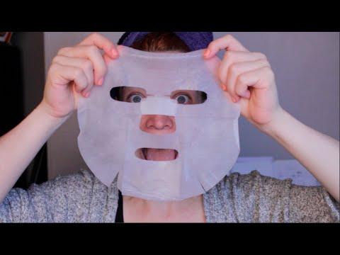 Gouam le masque pour la personne avec lacide glycolique