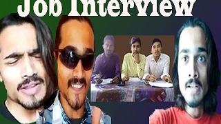 BB Ki Vines Job Interview With BB Bencho Fameer Fuddi  Desi Views