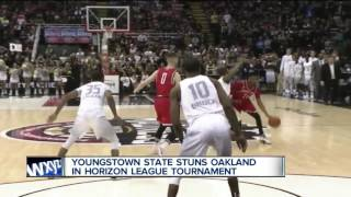 Oakland reacts to last-second loss to Youngstown State