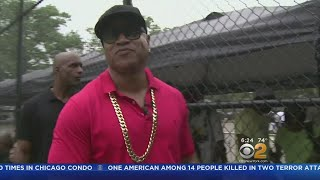 LL Cool J Returns To Queens