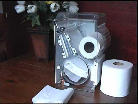 Toilet Paper Machine Does Folding for You