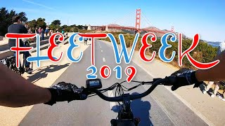 Juiced Bikes City Scrambler Ebike Tour Fleet Week 2019 San Francisco | FPV Footage GoPro Hero
