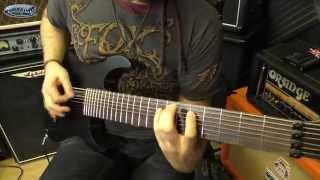 Ibanez M80M 8 String Guitar Demo