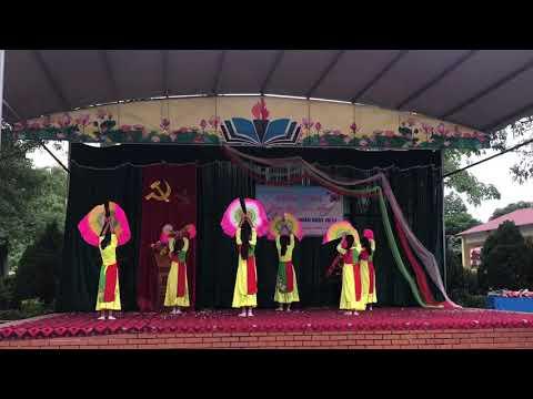 """Múa """"Cây đa quán dốc"""" - 20/11/2019 - Lớp 7B - Trường THCS Bình Thuận"""